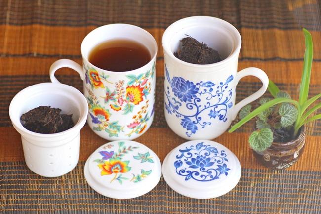 プーアール茶の味